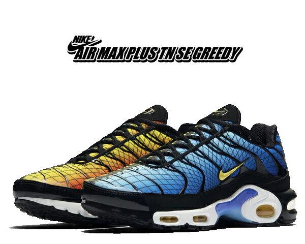 メンズ靴, スニーカー !! !! NIKE AIR MAX PLUS TN SE GREEDY blackchile red-tour yellow av7021-001