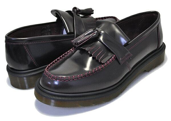 メンズ靴, ローファー !! !! Dr.Martens ADRIAN TASSEL LOAFER R24370600 CHERRY RED ARCADIA