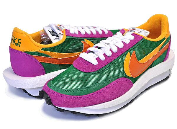 メンズ靴, スニーカー !! !! LDNIKE LD WAFFLESACAI pine greenclay org-del sol bv0073-301 LDV