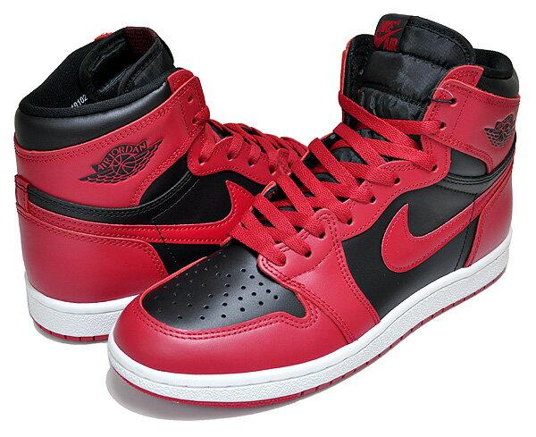 メンズ靴, スニーカー !! !! 1 85NIKE AIR JORDAN 1 HI 85 varsity redblack-varsity red bq4422-600 BRED BULLS RED