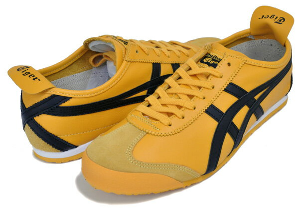 メンズ靴, スニーカー !! !! 66Onitsuka Tiger MEXICO 66 YELLOWBLACK dl408-0490 Kill Bill