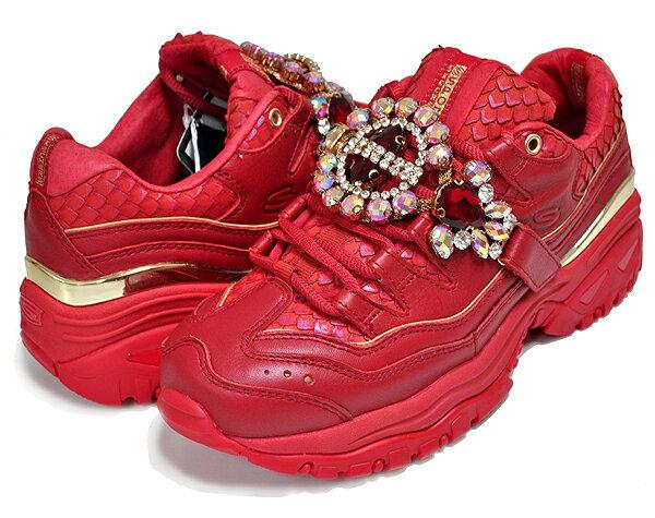 メンズ靴, スニーカー !! !! SKECHERS PREMIUM HERITAGE ENERGY CSTUNNING GEM RED 149247-red