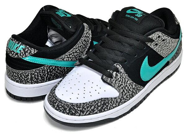 メンズ靴, スニーカー !! !! NIKE SB DUNK LOW PRO ELEPHANT medium greyclear jade-black bq6817-009