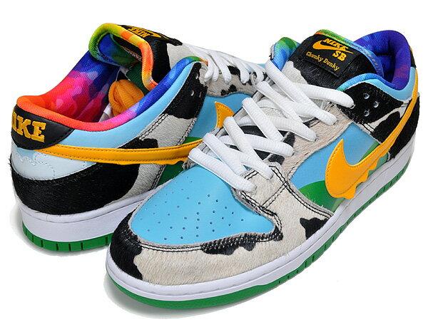 メンズ靴, スニーカー !! !! SB NIKE SB DUNK LOW PRO QS BEN JERRYS whiteuniversity gold cu3244-100 CHUNKY DUNKY