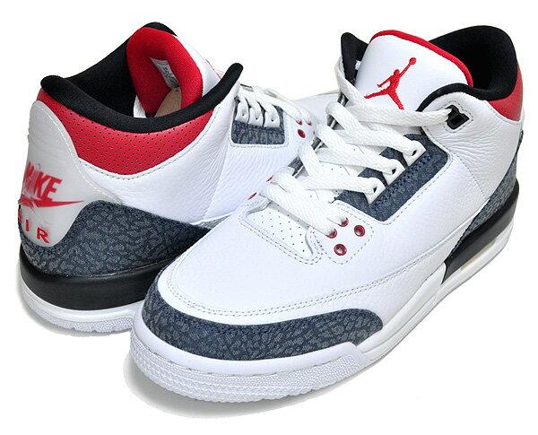 レディース靴, スニーカー !! !! 3 NIKE AIR JORDAN 3 RETRO SE (GS) whitefire red-black cz6634-100 AJ3