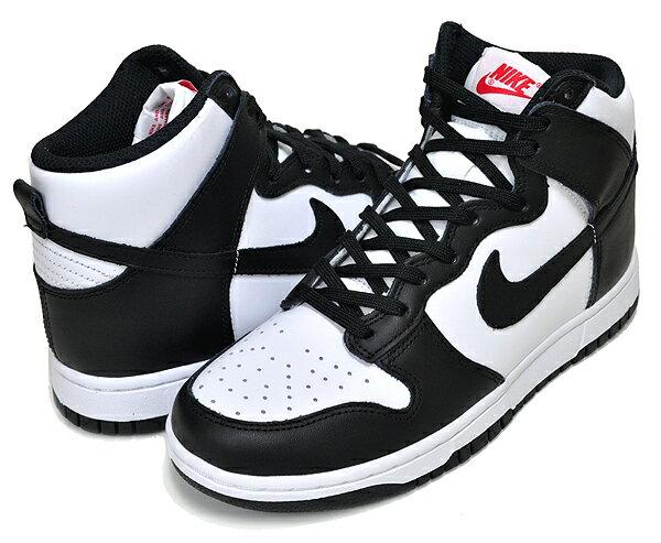 レディース靴, スニーカー !! !! NIKE WMNS DUNK HIGH whiteblack-university red dd1869-103