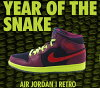 "NIKEAIRJORDAN1MIDYOTS""YearOfTheSnake""blk/nd.blu-h.red-rspberry.red-v"