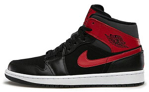 NIKE AIR JORDAN 1 MID blk/g.red-anthrct