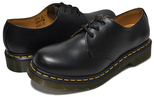 お得な割引クーポン発行中!!【あす楽 対応!!】【ドクターマーチン 3ホール ギブソン レディース】【R11837002】Dr.Martens 1461W 3EYE GIBSON BLACK カジュアル ブラック ウィメンズ 靴 3アイレット画像