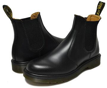 【ドクターマーチンサイドゴア】Dr.Martens2976CHELSEABOOTBLACKSMOOTHドクターマーチンブラック【ブーツ】