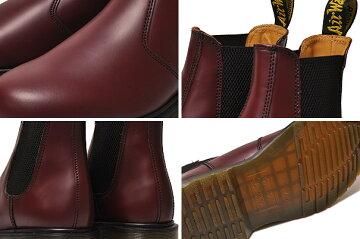 【ドクターマーチンサイドゴア】Dr.Martens2976CHELSEABOOTCHERRYREDSMOOTHドクターマーチンレッド【ブーツ】