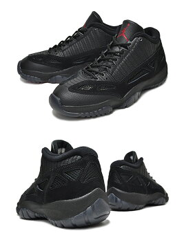 【ナイキジョーダン11】NIKEAIRJORDAN11RETROLOWblk/truered