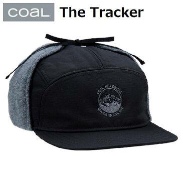 【COAL コール】 【国内正規品】 18-19 The Tracker 219616 BLACK 耳付き キャップ 帽子 HEADWEAR ヘッドウェア スノーボード アウトドア CPI メンズ レディース アクセサリー
