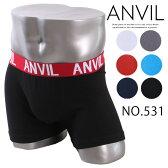 ボクサーパンツ メンズ ボクサー パンツ ローライズ ボクサーパンツ アンダーウエア ANVIL アンビル