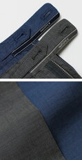 S/S新作INCOTEX/インコテックス/SLIMFIT/サマーペーパーコットン超軽量パンツ【1WT13T】【811.ブルー/920.グレー】【送料無料】