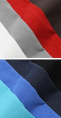S/S新作JEORDIE'S(ジョルディーズ)/コットンメタル釦ヘンリーネックTシャツ【全8色】【送料無料】