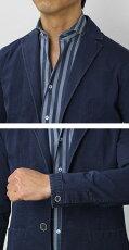 【国内正規品】S/S新作SONRISA(ソンリーサ)/コットンツイルシャツジャケット【インディゴ】【送料無料】