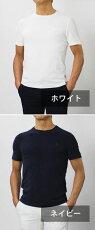 【国内正規品】S/S新作GRANSASSO(グランサッソ)/パイルニット胸刺繍Tシャツ【ホワイト/ネイビー】【送料無料】