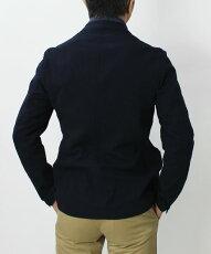 【国内正規品】S/S新作LARDINI(ラルディーニ)/コットンシアサッカーシャツジャケット【ベージュ/ネイビー】【送料無料】