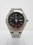 【中古品】AVIREXアヴィレックスAVX-003デイデイトメンズ腕時計英語・スペイン語〇YR-01216〇