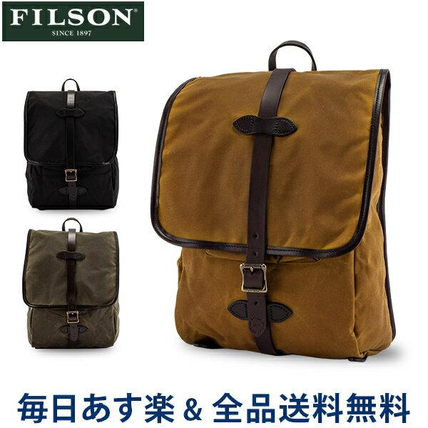 メンズバッグ, バックパック・リュック  FILSON Tin Cloth Backpack 70017
