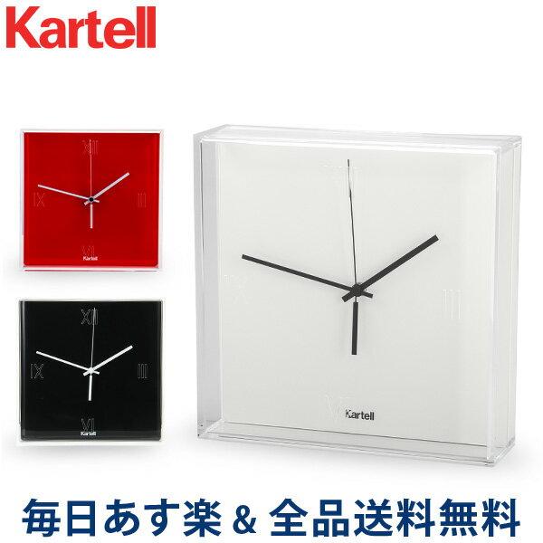 置き時計・掛け時計, 掛け時計  Kartell 1900 Tic Tac Clock (Matte)