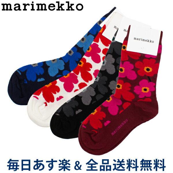 靴下・レッグウェア, 靴下  Marimekko Hieta 039859 Unikko socks cont ss13