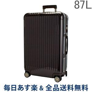 [全品送料無料] リモワ RIMOWA サルサデラックス 831.73.52.5 【4輪】 スーツケース マルチ 【SALSA DELUXE】 ブラウン Multiwheel 87L 電子タグ 【E-Tag】