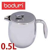 bodum ボダム Bodum Columbia コロンビア French press coffee maker double wall 17oz (4 Cups) ダブルウォール コーヒープレス 0.5 L Chrome クローム 11055-16 北欧