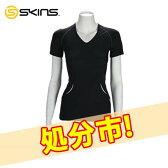 【クリアランスセール】 SKINS スキンズ A400 Womens Top Short Sleeve ウィメンズ トップスリーブ B41021004 送料無料