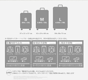 【送料無料2年保証】スーツケースキャリーバッグ軽量大型・機内持ち込み・中型キャリーケースlmsサイズビジネスキャリー4輪キャリーバック