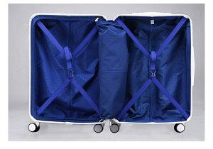 スーツケースキャリーバッグキャリーケース旅行用品旅行カバン軽量Mサイズ中型ABS+PCハードケースファスナータイプ6831シリーズ