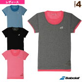 ゲームシャツ/レディース(BAB-1732W)《バボラ テニス・バドミントン ウェア(レディース)》