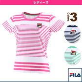 半袖ゲームシャツ/レディース(VL1627)《フィラ テニス・バドミントン ウェア(レディース)》