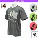 [テニスジャンキー テニス・バドミントン ウェア(メンズ/ユニ)]Tennis junky/ボールボーイその1 Tシャツ/ユニセックス(TJ0013)