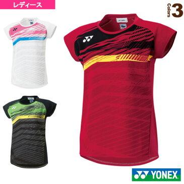 フィットシャツ/レディース(20390)《ヨネックス テニス・バドミントン ウェア(レディース)》