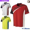 JAPAN Tシャツ/ソフトテニス日本代表応援/ユニセックス(62JA8X82)《ミズノ テニス・バドミントン ウェア(メンズ/ユニ)》バドミントンウェア男性用