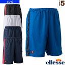 チームニットショーツ/Team Knit Short/メンズ(ETS2810)《エレッセ テニス・バドミントン ウェア(メンズ/ユニ)》