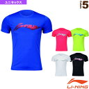 トレーニングTシャツ/ユニセックス(AHSM467)《リーニン テニス・バドミントン ウェア(メンズ/ユニ)》