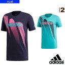 MEN SEASON グラフィック コットンTシャツ/シーズン/メンズ(FAQ69)《アディダス テニス・バドミントン ウェア(メンズ/ユニ)》
