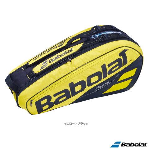 ピュアライン ラケットバッグ/PURE LINE RACKET HOLDER X6/ラケット6本収納可(BB751182)《バボラ テニス バッグ》