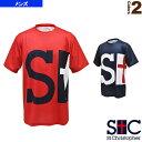 M.ビッグロゴTシャツ/メンズ(STC-AHM5117)《セントクリストファー テニス・バドミントン ウェア(メンズ/ユニ)》