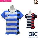 ボーダーゲームTシャツ/レディース(STC-AHW6105)《セントクリストファー テニス・バドミントン ウェア(レディース)》