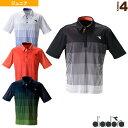 JR ゲームシャツ/ボーイズ(DTJ9332)《ディアドラ テニス ジュニアグッズ》