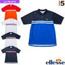 ショートスリーブチームポロ/S/S Team Polo/ユニセックス(ETS0910)《エレッセ テニス・バドミントン ウェア(メンズ/ユニ)》