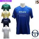 CACHI/MC/MCH T-SHIRT/カキ/モンテカルロ MCH Tシャツ/ユニセックス(SGT-38138)《セルジオタッキーニ テニス・バドミントン ウェア(メンズ/ユニ)》
