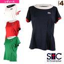 コンストリクションゲームTシャツ/レディース(STC-AIW6187)《セントクリストファー テニス・バドミントン ウェア(レディース)》