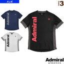 プラクティスTシャツ2/メンズ(ATMA903)《アドミラル(Admiral) テニス・バドミントン ウェア(メンズ/ユニ)》