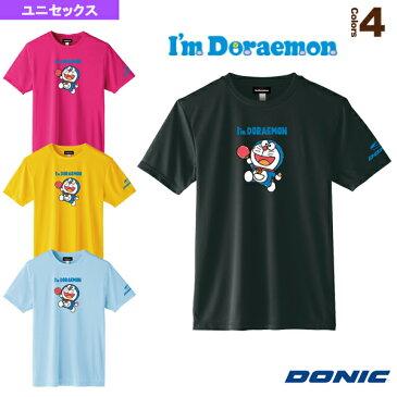卓球TシャツB/DONIC × I am DORAEMON/ユニセックス(YL111)《DONIC 卓球 ウェア(メンズ/ユニ)》(ドラえもん)