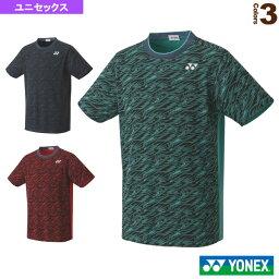 ゲームシャツ/フィットスタイル/ユニセックス(10413)《ヨネックス テニス・バドミントン ウェア(メンズ/ユニ)》